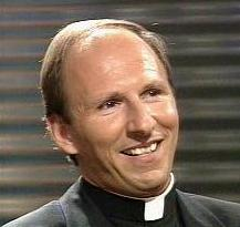 Father Alex again participating in a theological discussion on TV.
